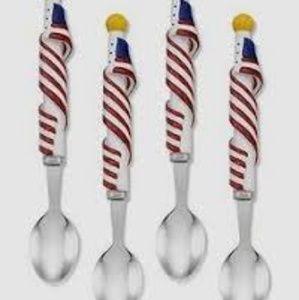 Williams Sonoma Patriotic Ice Cream spoons